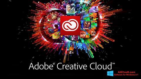 צילום מסך Adobe Creative Cloud Windows 8.1