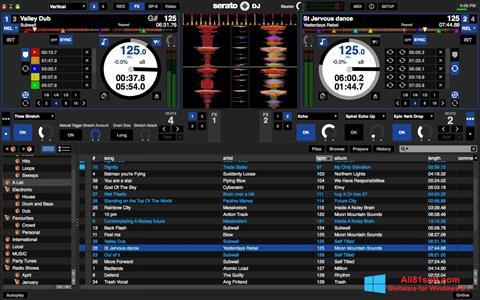 צילום מסך Serato DJ Windows 8.1