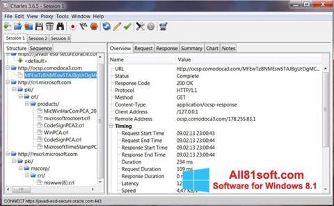 צילום מסך Charles Windows 8.1