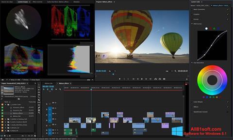 צילום מסך Adobe Premiere Pro Windows 8.1