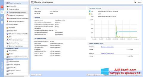צילום מסך Kerio Control Windows 8.1