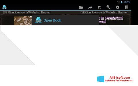 צילום מסך AlReader Windows 8.1