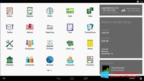 צילום מסך Clover Windows 8.1