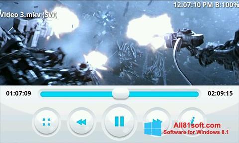 צילום מסך BSPlayer Windows 8.1