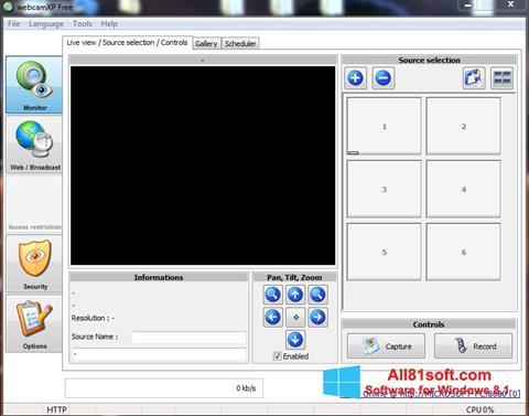 צילום מסך webcamXP Windows 8.1
