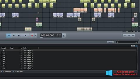 צילום מסך MAGIX Music Maker Windows 8.1
