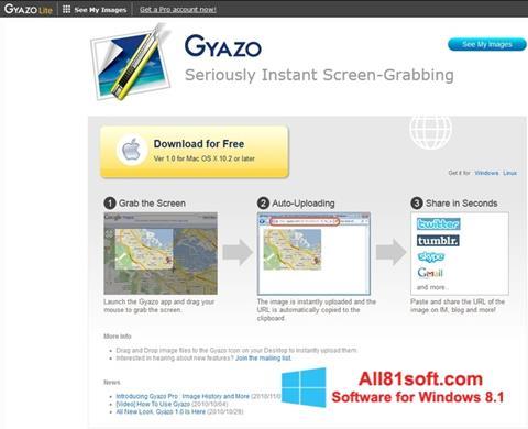 צילום מסך Gyazo Windows 8.1