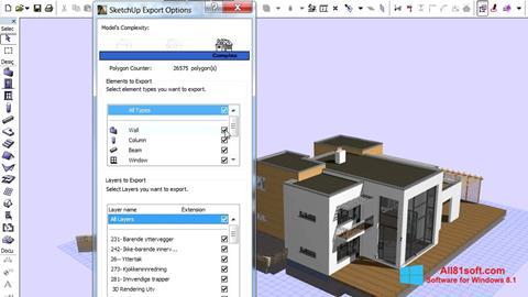 צילום מסך ArchiCAD Windows 8.1