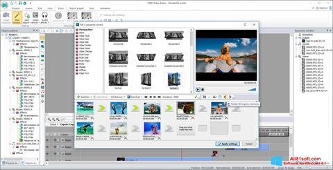 צילום מסך VSDC Free Video Editor Windows 8.1