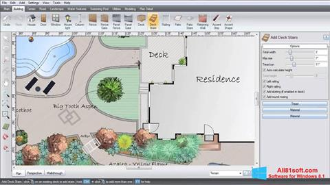 צילום מסך Realtime Landscaping Architect Windows 8.1