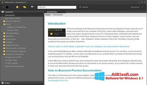 צילום מסך Adobe AIR Windows 8.1