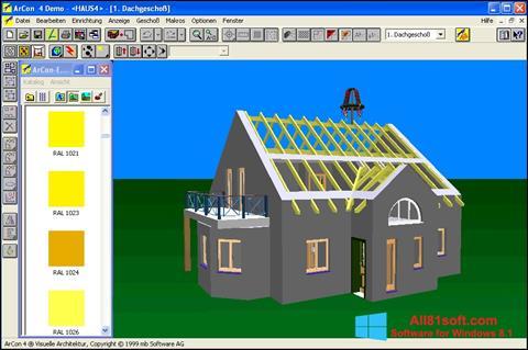 צילום מסך Arcon Windows 8.1