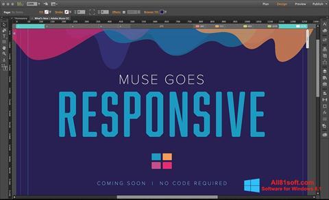 צילום מסך Adobe Muse Windows 8.1