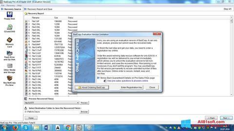 צילום מסך BadCopy Pro Windows 8.1