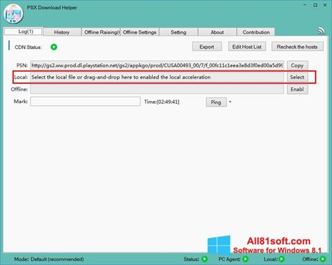 צילום מסך DownloadHelper Windows 8.1