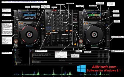 צילום מסך Virtual DJ Windows 8.1