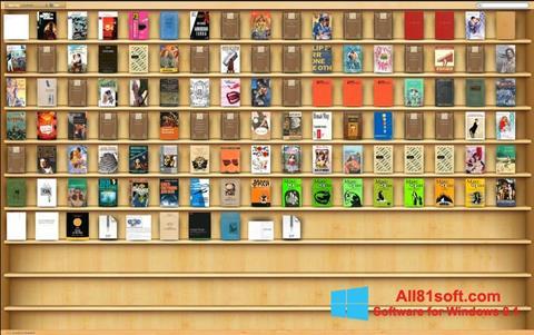 צילום מסך Bookshelf Windows 8.1