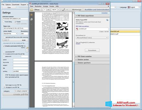 צילום מסך Scan2PDF Windows 8.1