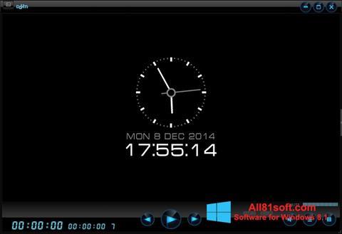 צילום מסך Daum PotPlayer Windows 8.1