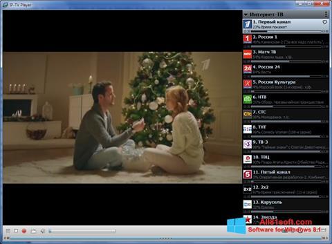 צילום מסך IP-TV Player Windows 8.1