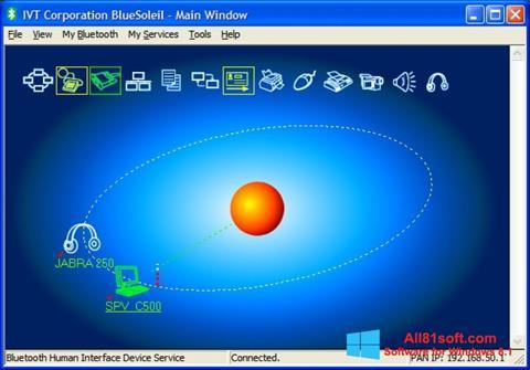 צילום מסך BlueSoleil Windows 8.1