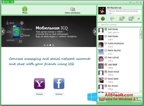 צילום מסך ICQ Windows 8.1