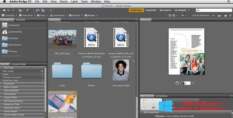 צילום מסך Adobe Bridge Windows 8.1