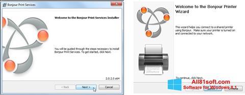 צילום מסך Bonjour Windows 8.1