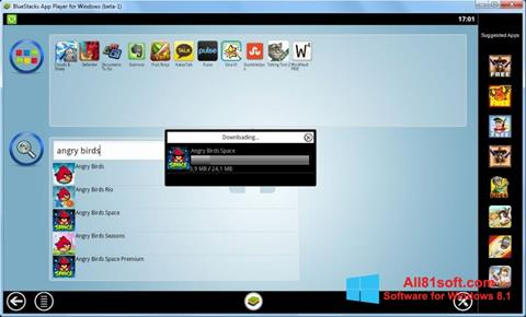 צילום מסך BlueStacks Windows 8.1
