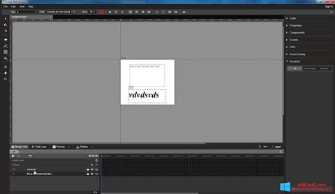 צילום מסך Google Web Designer Windows 8.1