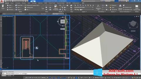צילום מסך AutoCAD Architecture Windows 8.1