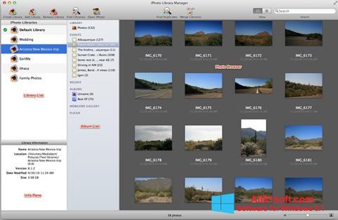 צילום מסך iPhoto Windows 8.1