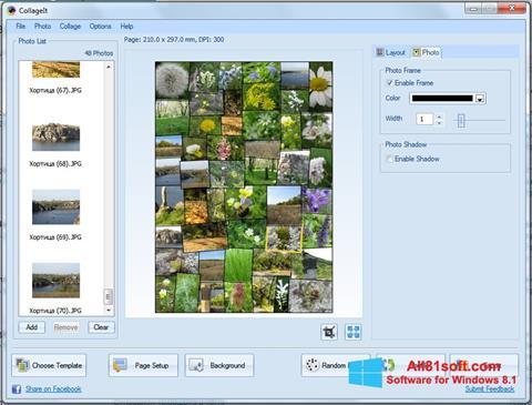 צילום מסך CollageIt Windows 8.1