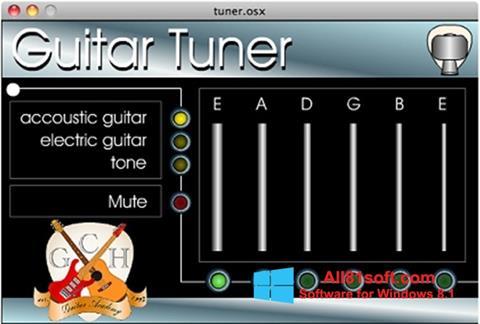 צילום מסך Guitar Tuner Windows 8.1