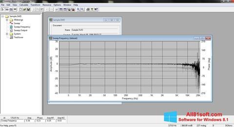 צילום מסך Speaker Windows 8.1