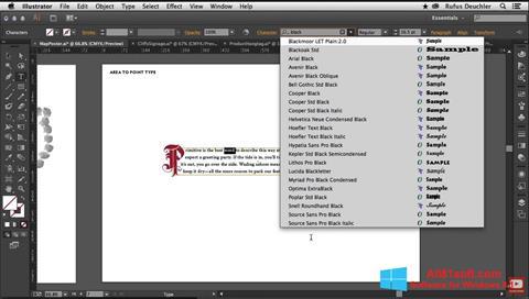 צילום מסך Adobe Illustrator Windows 8.1