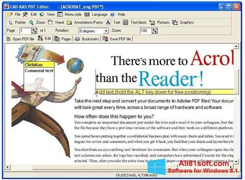 צילום מסך PDF Reader Windows 8.1