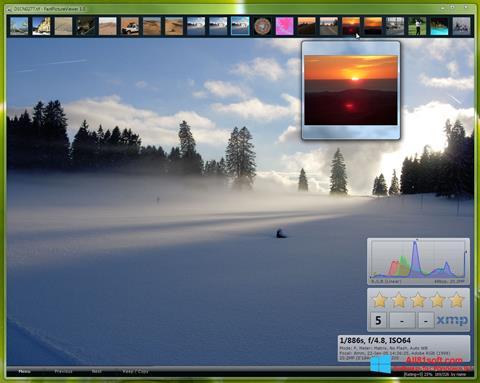 צילום מסך FastPictureViewer Windows 8.1