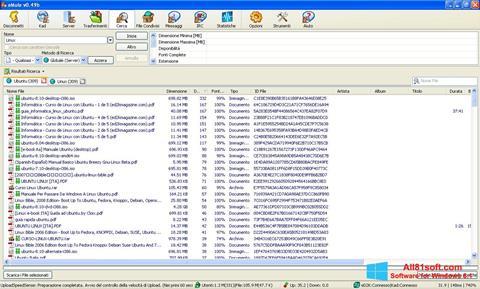 צילום מסך eMule Windows 8.1