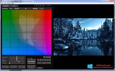צילום מסך 3D LUT Creator Windows 8.1