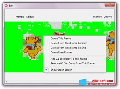 צילום מסך GifCam Windows 8.1