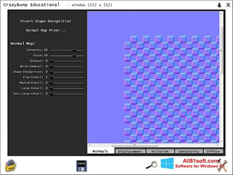 צילום מסך CrazyBump Windows 8.1