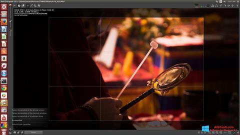 צילום מסך RawTherapee Windows 8.1