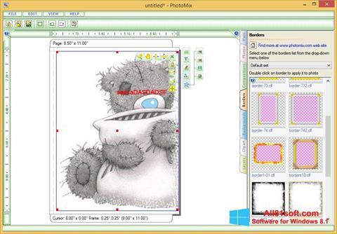 צילום מסך PhotoMix Collage Windows 8.1