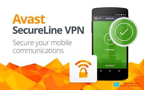 צילום מסך Avast SecureLine VPN Windows 8.1